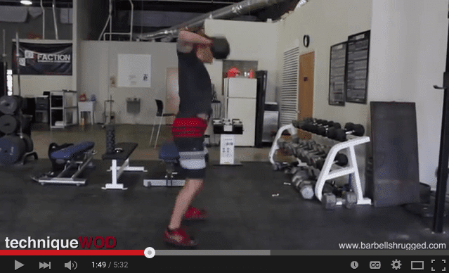 How to perform a dumbbell snatch. Dumbbell snatches are a great way to improve pwerful extension of the hip used in skiing